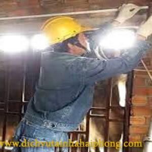 Sửa điện tại đường Lê Hồng Phong-NQ-HP