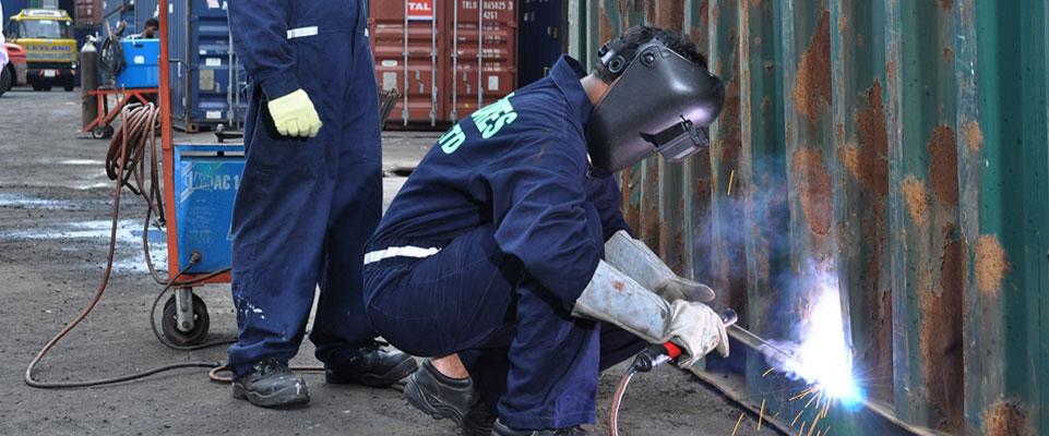 Thợ sửa cotainer tại Hải Phòng