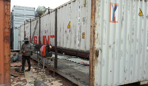 Sửa container lạnh giá rẻ tại Hải Phòng