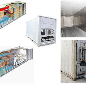 Sửa container lạnh tại cảng Hải Phòng